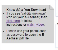 download aadhar