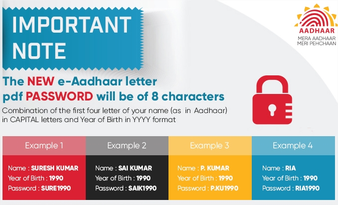 download & Print UIDAI aadhar card
